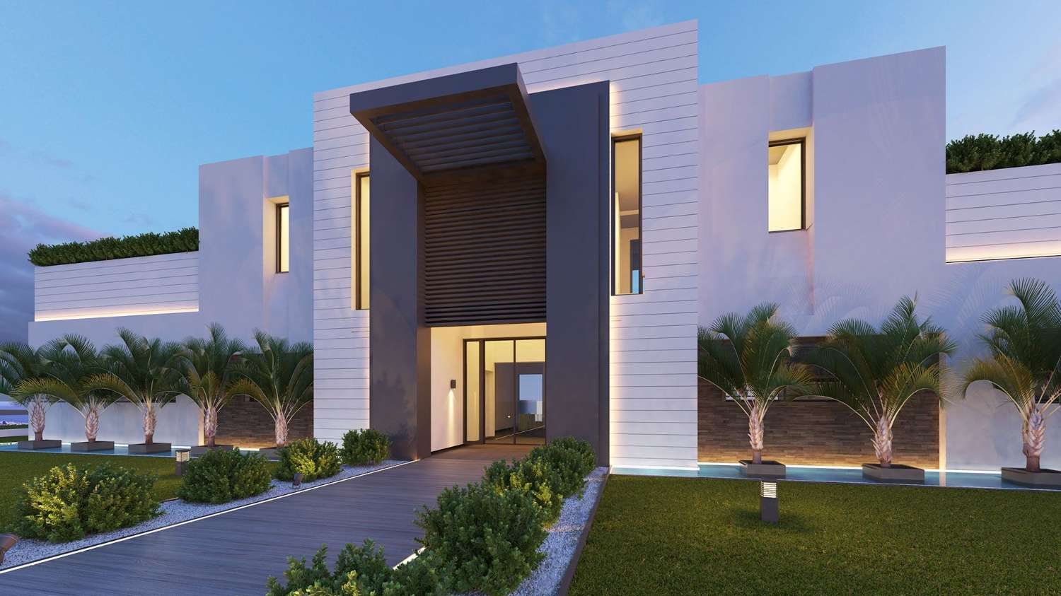 Promotion of 57 homes with garages and storage rooms in Benahavis (Málaga)